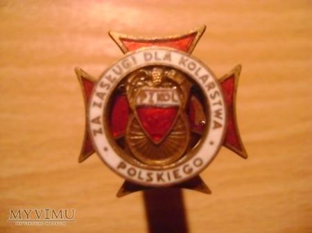 krzyż za zasługi dla kolarstwa polskiego