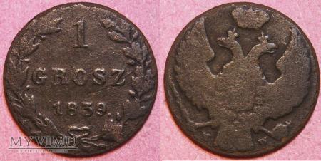 1839, 1 grosz