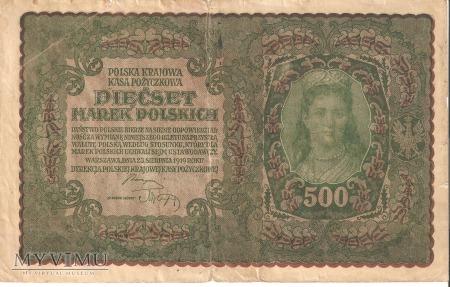 500 Marek Polskich 1919r.