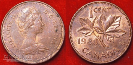 Kanada, 1 CENT 1980