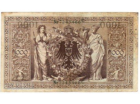 1000 Marek 1910 r.