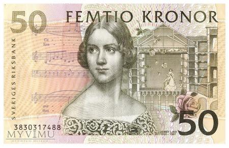 Szwecja - 50 koron (2003)