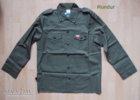 Mundurek (koszula) harcerza ZHP