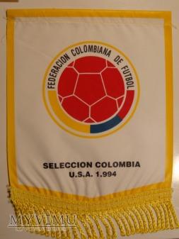 Duże zdjęcie Proporczyk reprezentacji Kolumbii U.S.A 1994