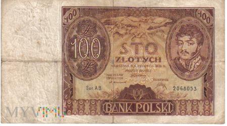 Duże zdjęcie 100 złotych 1932r
