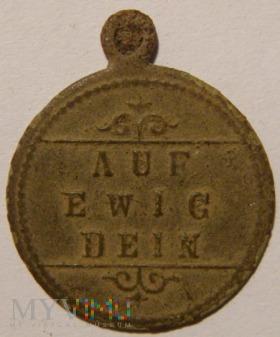 Medalik AUF EWIG DEIN