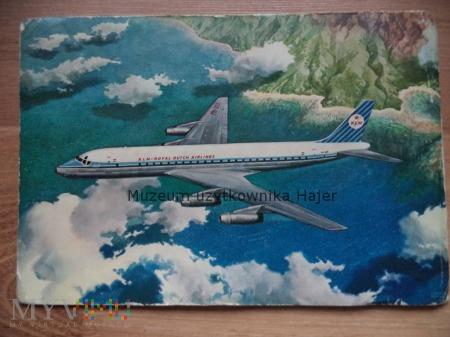 Duże zdjęcie Douglas DC-8 KLM's Pocztówka samolot