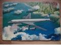 Douglas DC-8 KLM's Pocztówka samolot