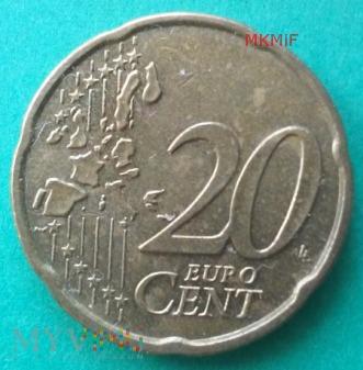20 Euro Cent 2002 Niemcy