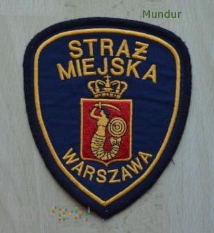 Oznaka Straż Miejska WARSZAWA