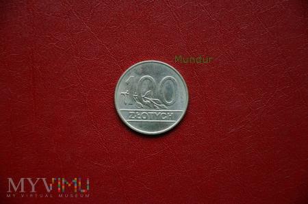 Moneta: 100 złotych
