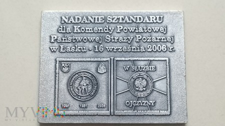 Duże zdjęcie Nadanie Sztandaru KP PSP w Łasku