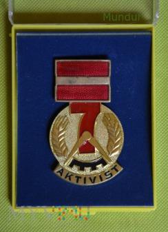 Medaille Aktivist des Siebenjahrplanes