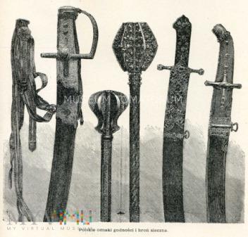 Polskie oznaki godności i broń sieczna