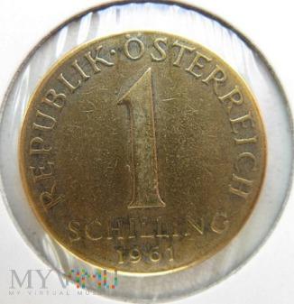 1 szyling 1961 r. Austria