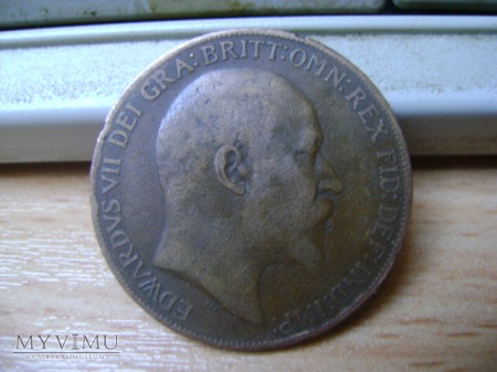one penny 1908