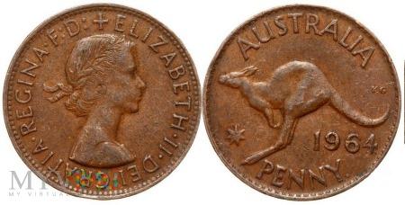Australia, 1 penny 1964