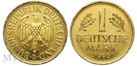 1 deutsche mark 1990