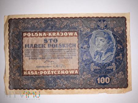 100 marek polskich - 1919 rok