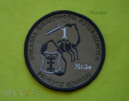 Oznaka 1 Eskadry Śmigłowców Szturmowych Mi-24
