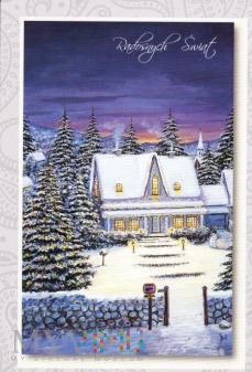 Duże zdjęcie Śnieżny domek