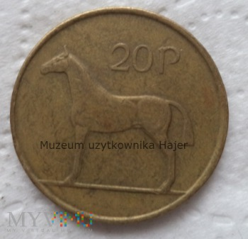 Irlandia - 20 pensów - 1999 rok