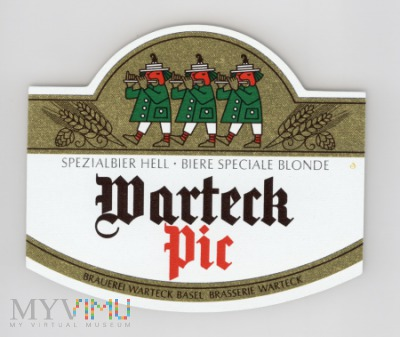 Warteck, Pic