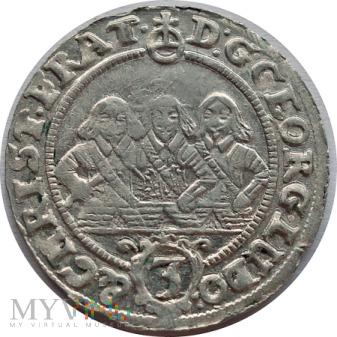 3 Krajcary 1656