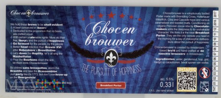Chocen Brouwer Breakfast Porter
