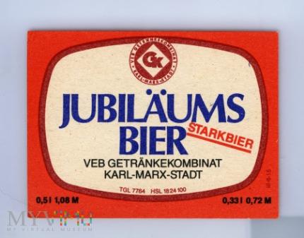 Karl-Marx-Stadt, Jubilaums Bier