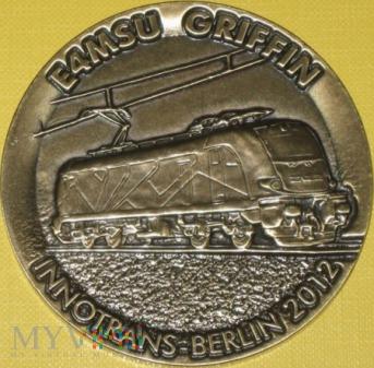 Medal lokomotywy Griffin