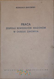 1956 - Podręcznik- Praca zespołu rew. wag. w zimie