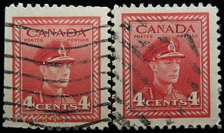 Kanada 4c Jerzy VI