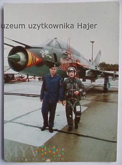 Samolot Su-22 - kartka pocztowa