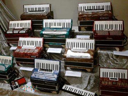Duże zdjęcie polskie akordeony