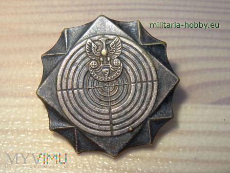 Srebrna Odznaka Strzelecka Duża