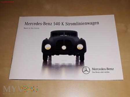 Prospekt Mercedes-Benz 540K Stromlinienwagen 2015