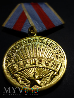 Duże zdjęcie Medal za wyzwolenie Warszawy