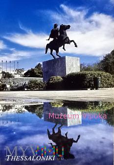 Saloniki - Aleksander Wielki na Bucefale