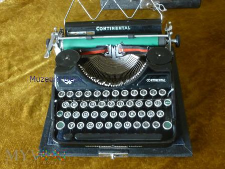 Continental maszyna do pisania / D
