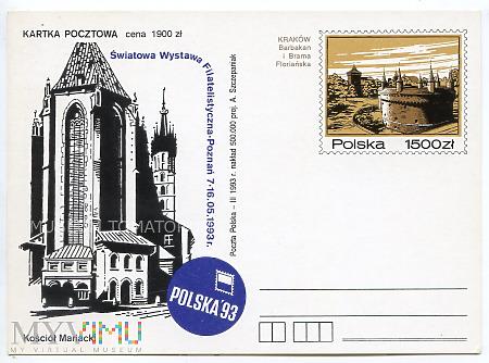 Światowa Wystawa Filatelistyczna. Poznań. 1993