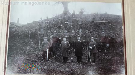 Zdjęcie Związku Strzeleckiego - Podhajce 1927 r.