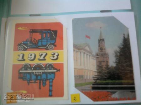 Kalendarzyki 1973