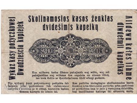 20 Kopiejek - Poznań - 17 kwiecień 1916 rok.