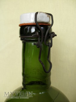 Butelka szklana, duża - kabłąkowa