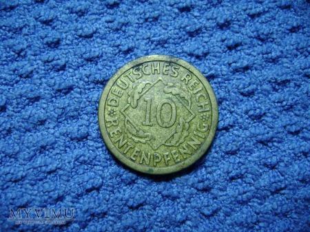 10 pfennig 1923