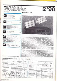 AUDIO Hi-Fi VIDEO 1990 rok, cz.I