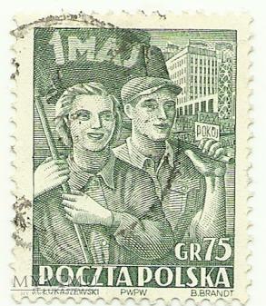 Święto 1 Maja 1952 rok