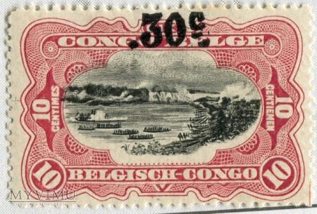 Duże zdjęcie Kongo Belgijskie Congo Belge nr 98 Michel nr 61