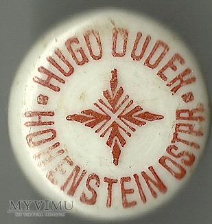 Hohenstein (Olsztynek) - Hugo Dudek